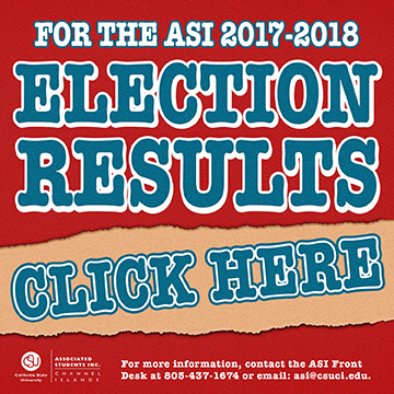 2017-2018 ASI Elections Results