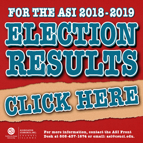 2018-2019 ASI Elections Results