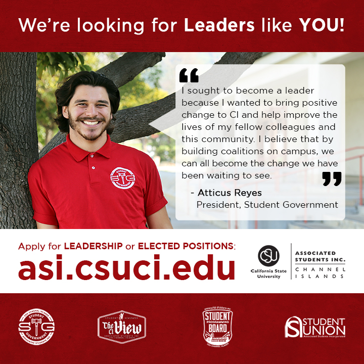 We're looking for Leaders like YOU!