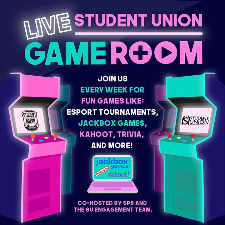 Student Union LIVE Game Room