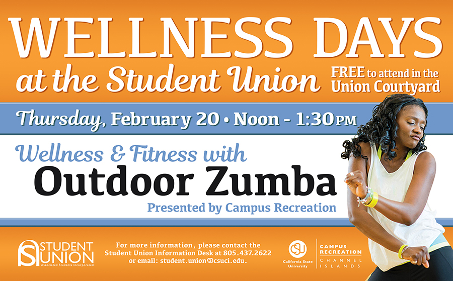 Wellness Days – Outdoor Zumba in the Student Union Courtyard